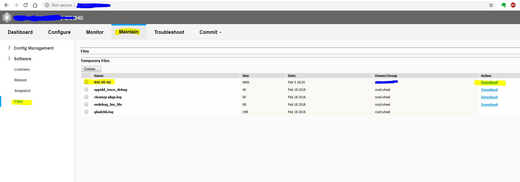 JUNIPER SRX – how to generate support information – netport org